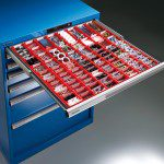 Dulapuri cu sertare cu separatoare de plastic